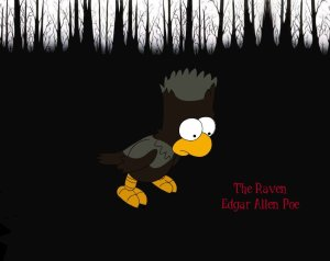 The_Raven___Simpsons_by_Sezehl